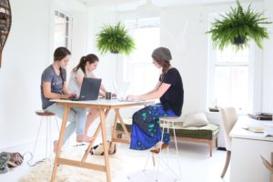 Office Routines in our scandinavian inspired home office