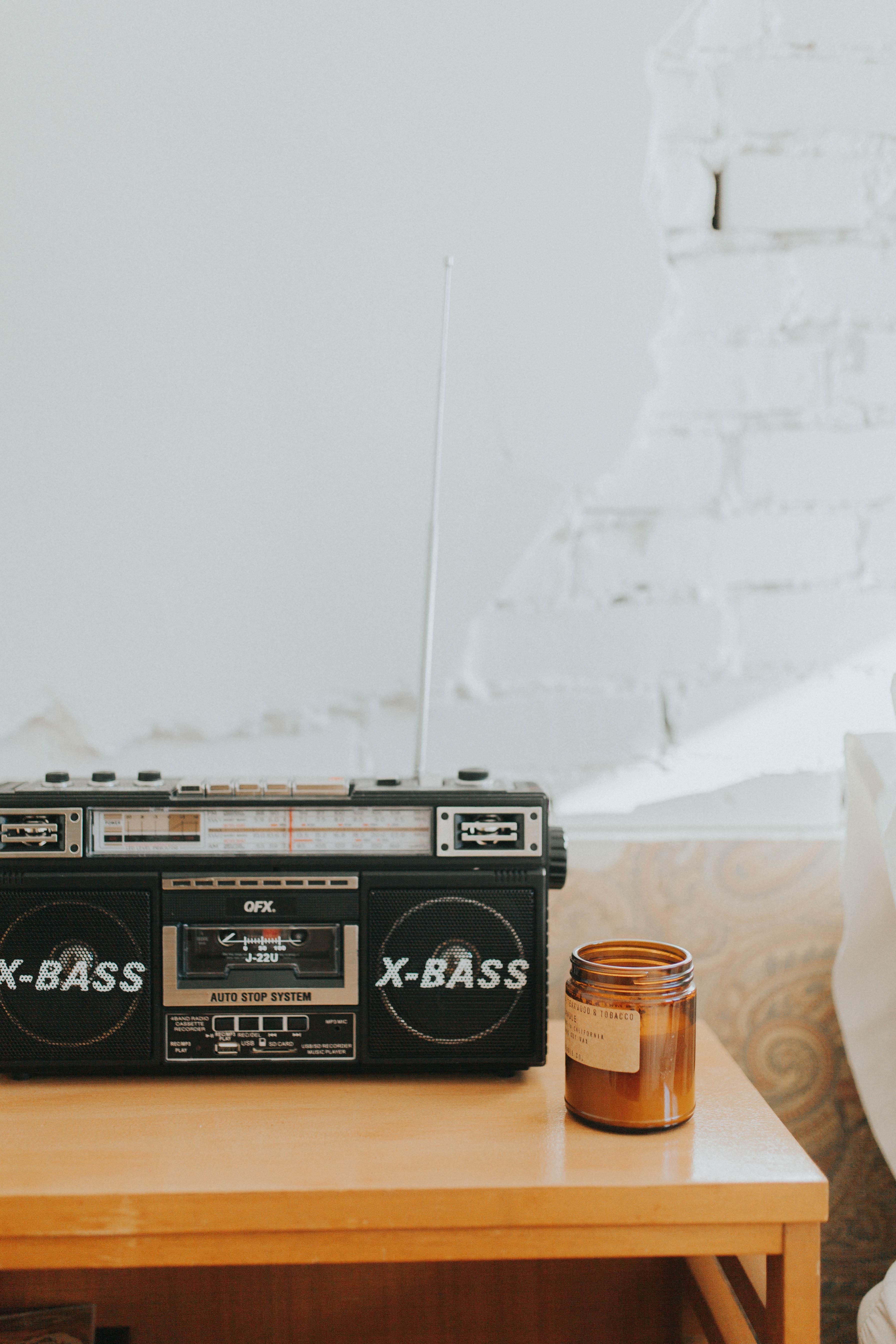vintage tape player