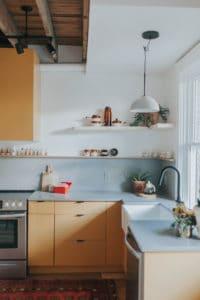 retro kitchen renovation by The Chris & Claude Co.