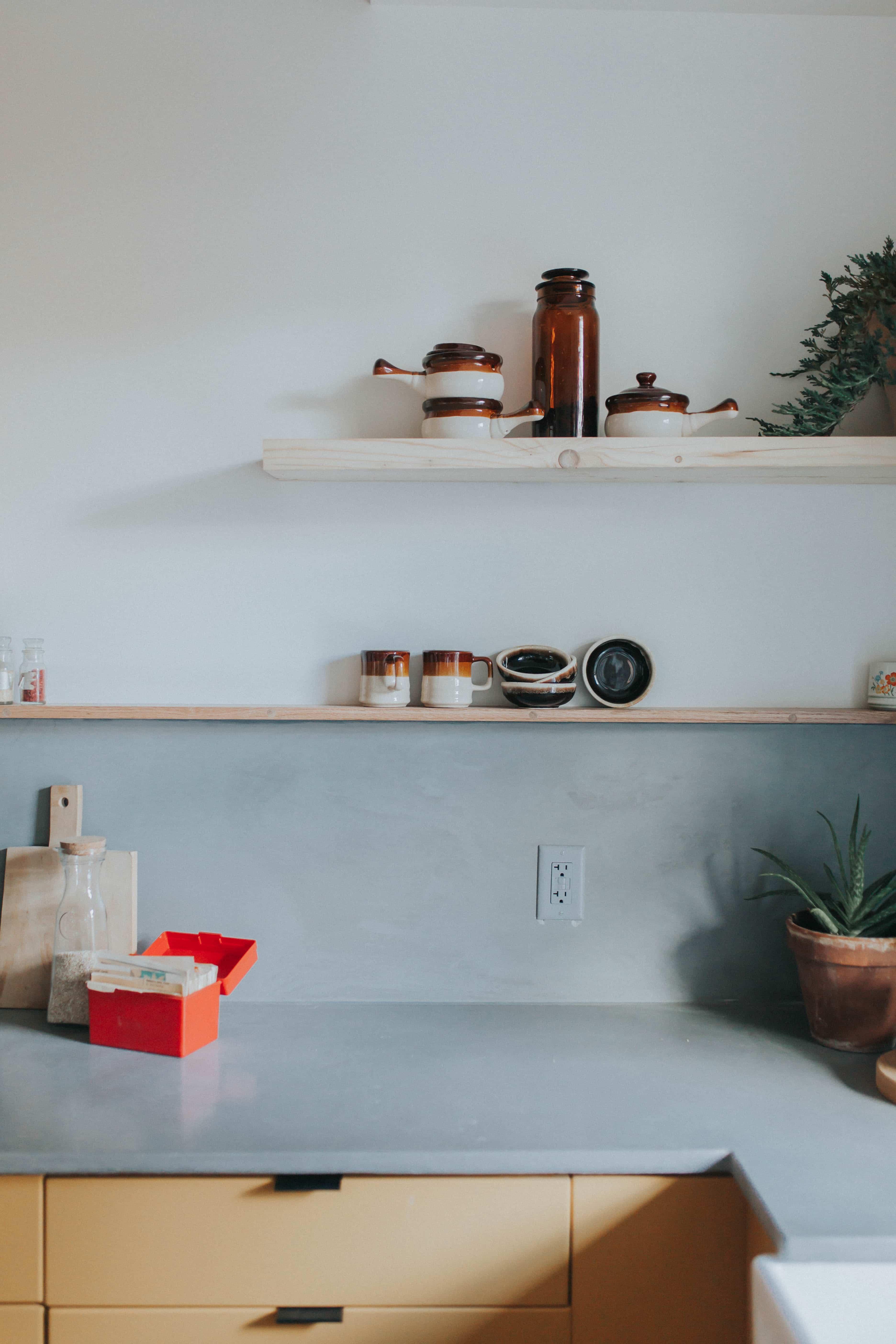 concrete countertops by The Chris & Claude Co.