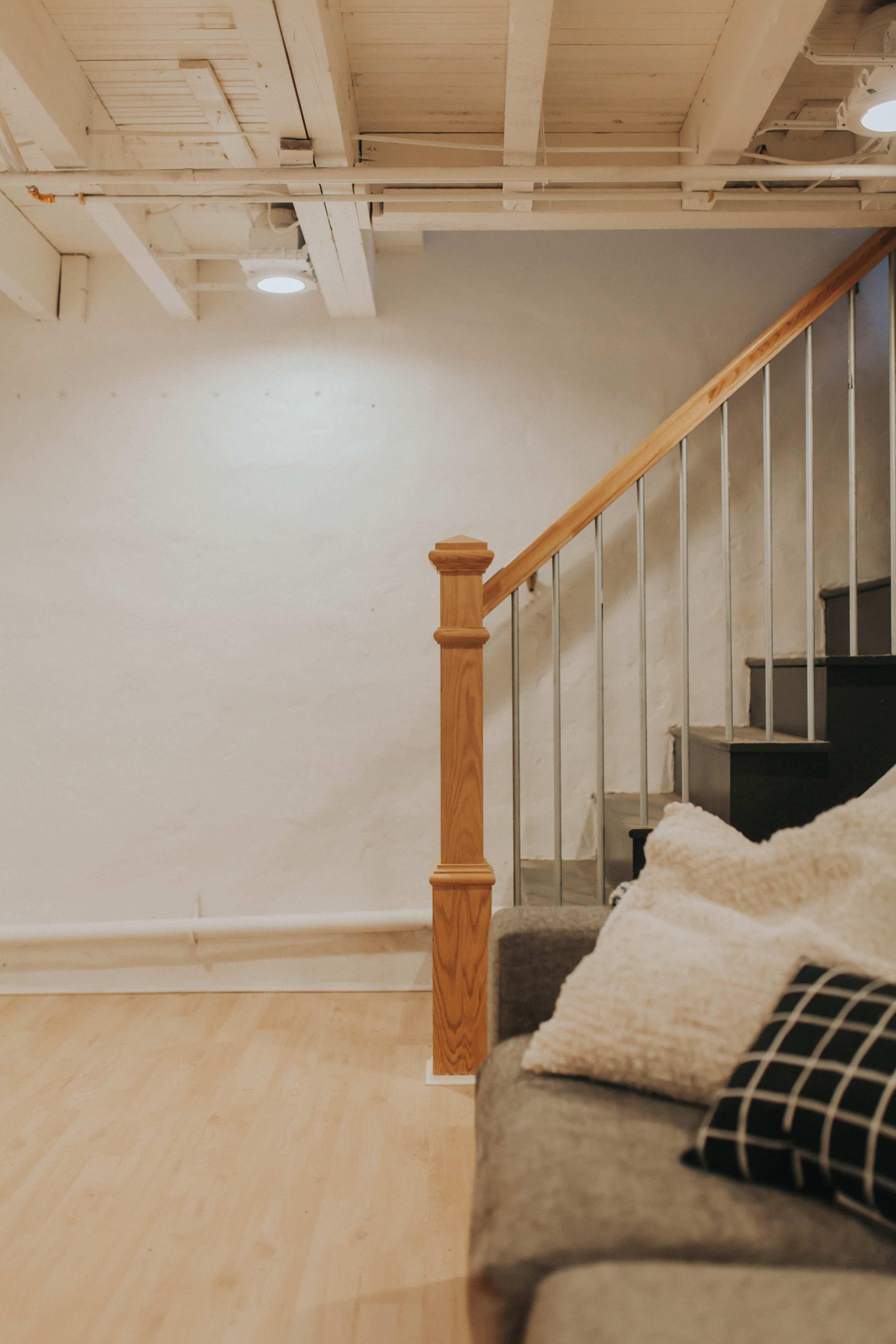 basement renovation in Lancaster