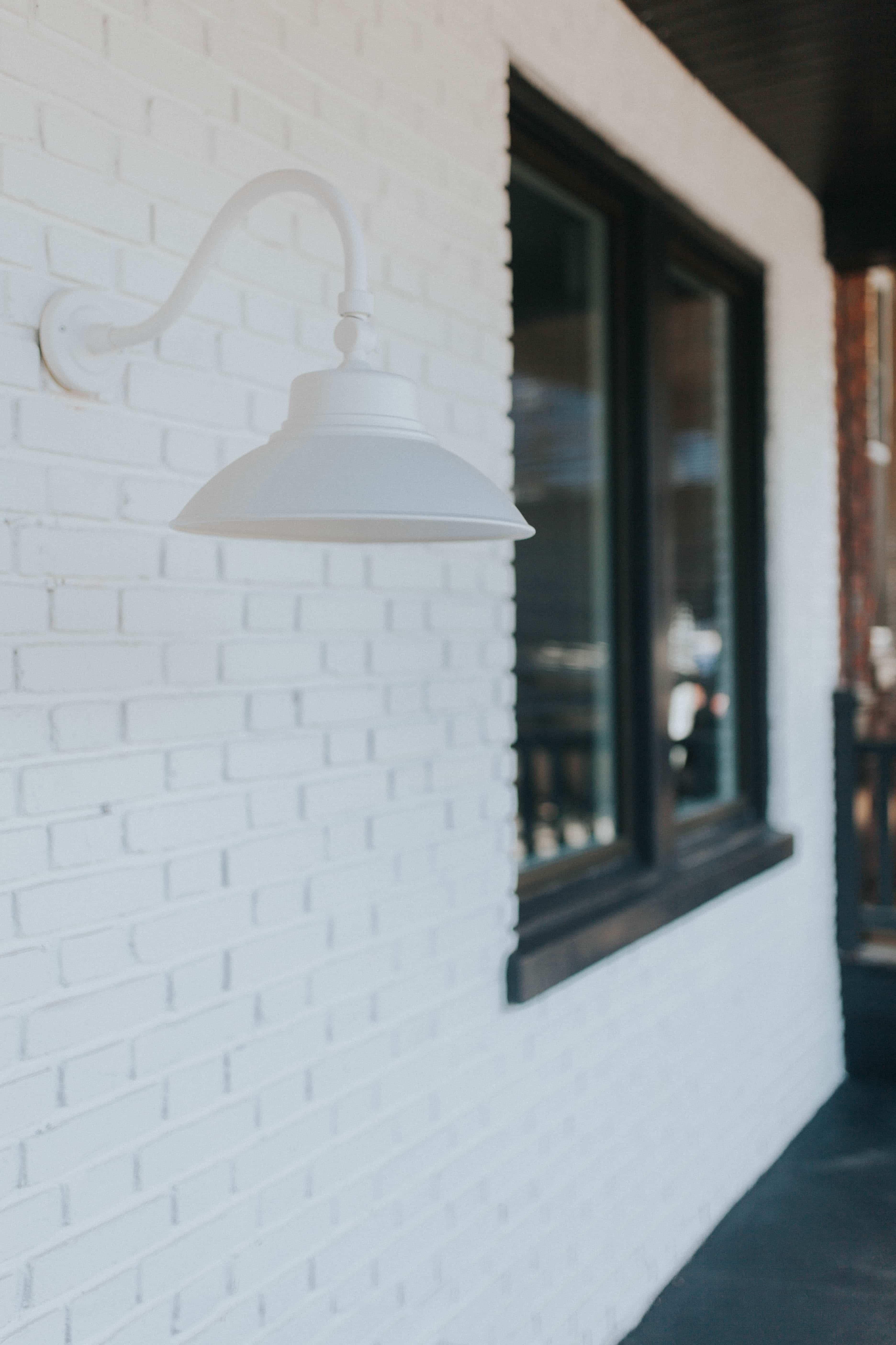 White brick renovation in Lancaster